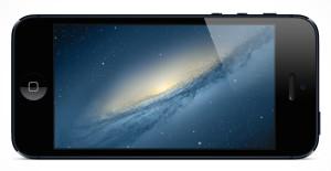 iPhone horizontal